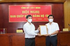 Tây Ninh công bố Phó Bí thư Tỉnh ủy sau Đại hội Đảng