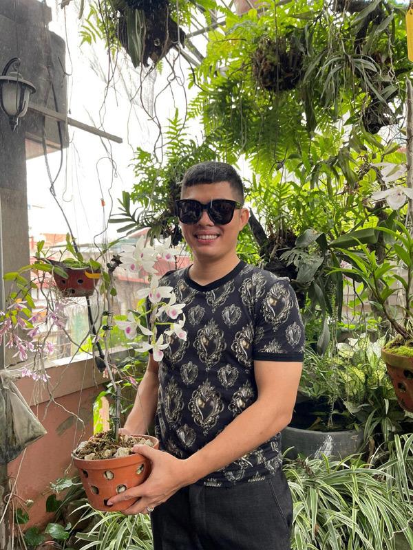 Vườn lan quý đẹp nức tiếng Thái Nguyên