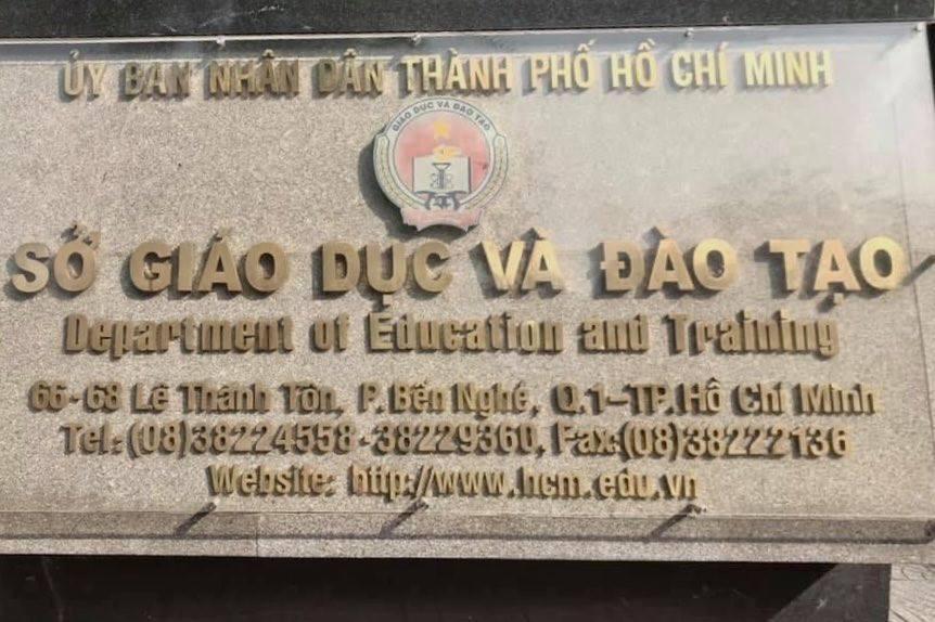 Đang làm quy trình giới thiệu Giám đốc Sở GD-ĐT TP.HCM thay ông Lê Hồng Sơn