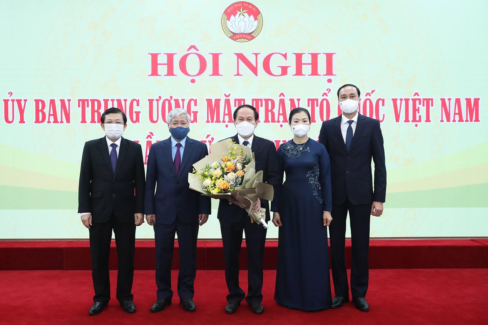 Bí thư Hậu Giang làm Phó Chủ tịch - Tổng thư ký MTTQ Việt Nam