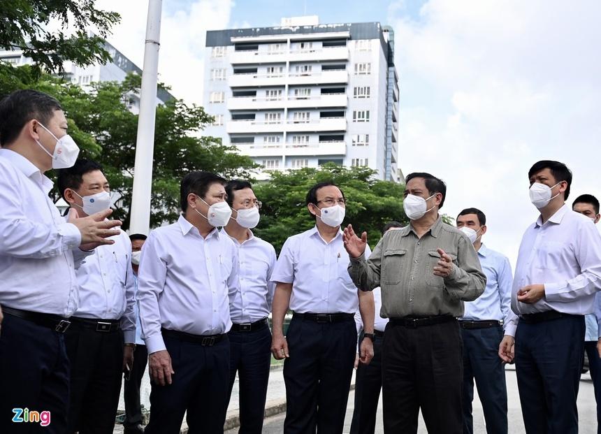 Phát biểu của Bộ trưởng Nguyễn Mạnh Hùng về phòng chống Covid-19 ở TP.HCM