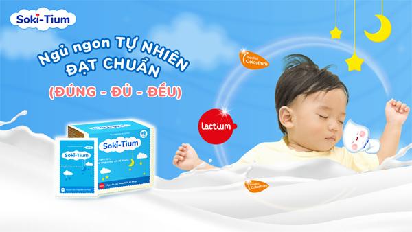 Soki Tium tiên phong xây dựng chuẩn mực giấc ngủ cho trẻ
