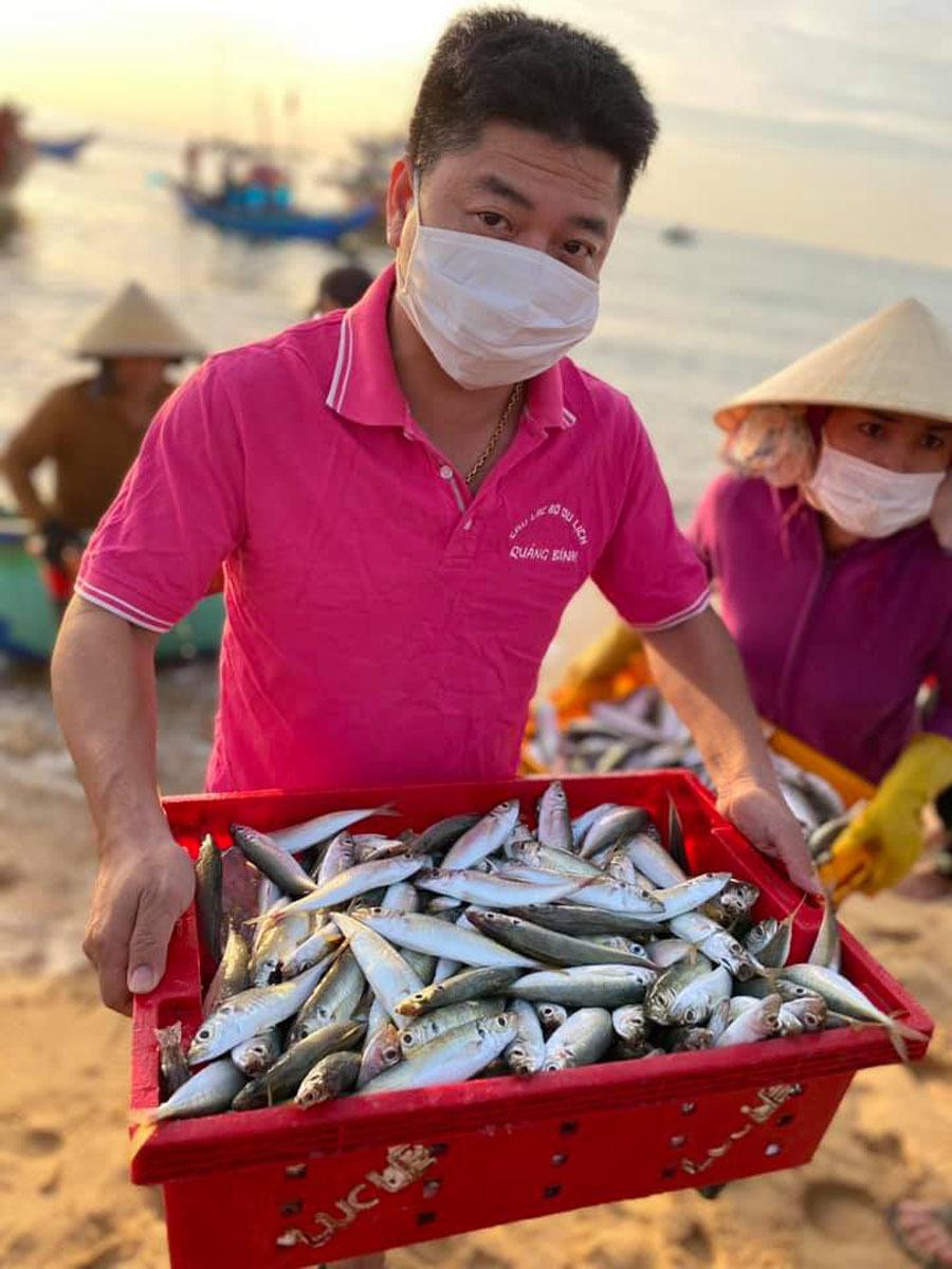 Ân tình Quảng Bình: Hàng tấn cá biển gửi vào tâm dịch TP.HCM