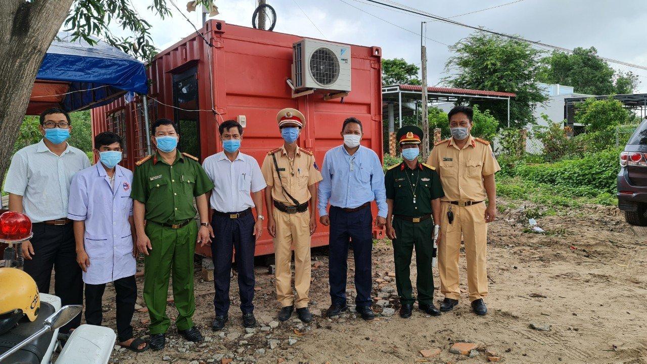 Bình Thuận có chốt kiểm dịch Covid-19 '5 sao'