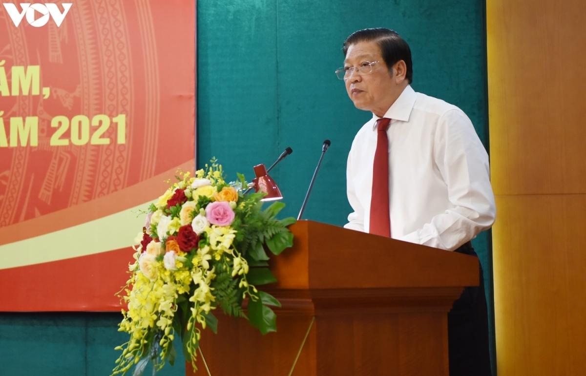 Trình Bộ Chính trị đề án kiểm soát quyền lực trong phòng chống tham nhũng