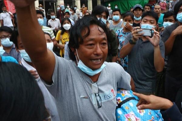Myanmar trả tự do cho hàng nghìn người biểu tình