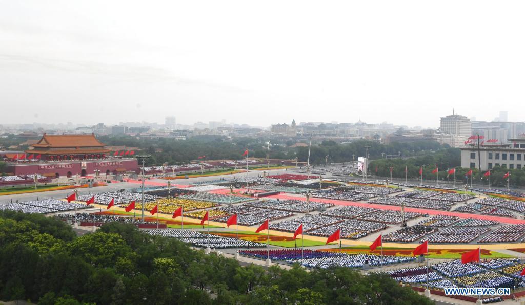 Kỷ niệm thành lập Đảng, Chủ tịch Trung Quốc tuyên bố mục tiêu trăm năm thứ hai