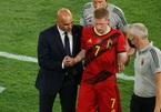 De Bruyne bất chấp chấn thương, cùng Bỉ chiến Italy
