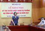 Bốn ứng cử viên thi cạnh tranh vào chức Vụ trưởng Bộ Nội vụ
