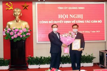 Quảng Ninh điều động 2 giám đốc sở làm Bí thư Móng Cái, Đông Triều