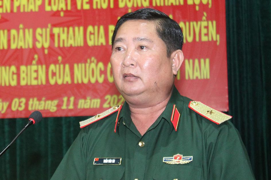 Cách chức Phó Tư lệnh Quân khu 9 với Thiếu tướng Trần Văn Tài