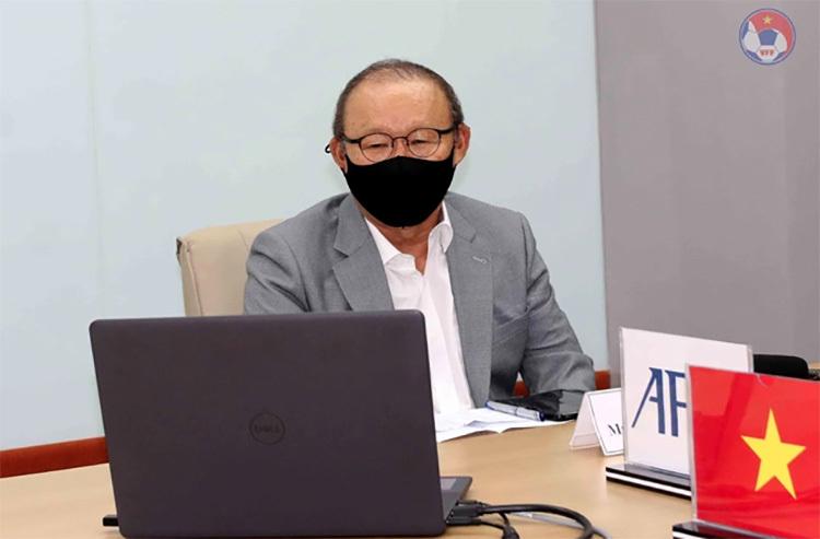 HLV Park Hang Seo nói gì về kết quả bốc thăm của tuyển Việt Nam?