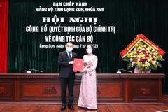 Ông Nguyễn Quốc Đoàn giữ chức Bí thư Tỉnh uỷ Lạng Sơn