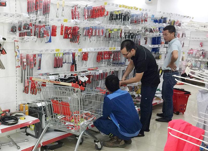 Hàng Việt chiếm 95% các kệ siêu thị