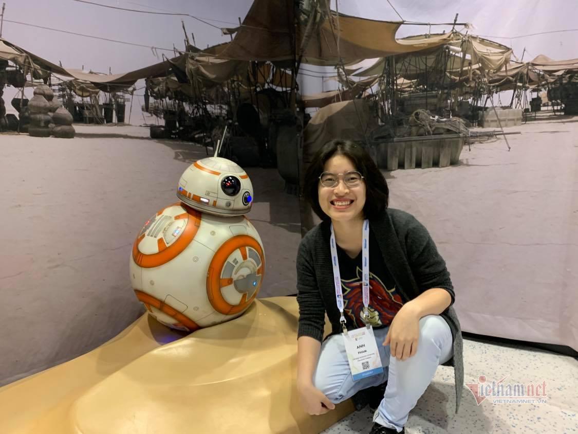 Cô gái điếc người Việt thắng giải thử thách mã hóa của Apple