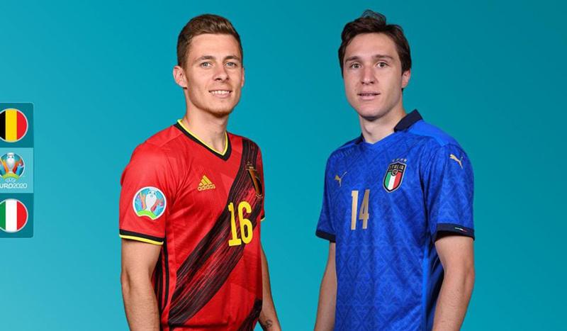 Kèo Bỉ vs Italy: Người Ý tiếp tục bay cao