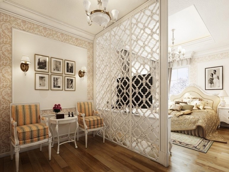 Những mẫu vách ngăn chia tách phòng cho nhà nhỏ tạo không gian bất ngờ