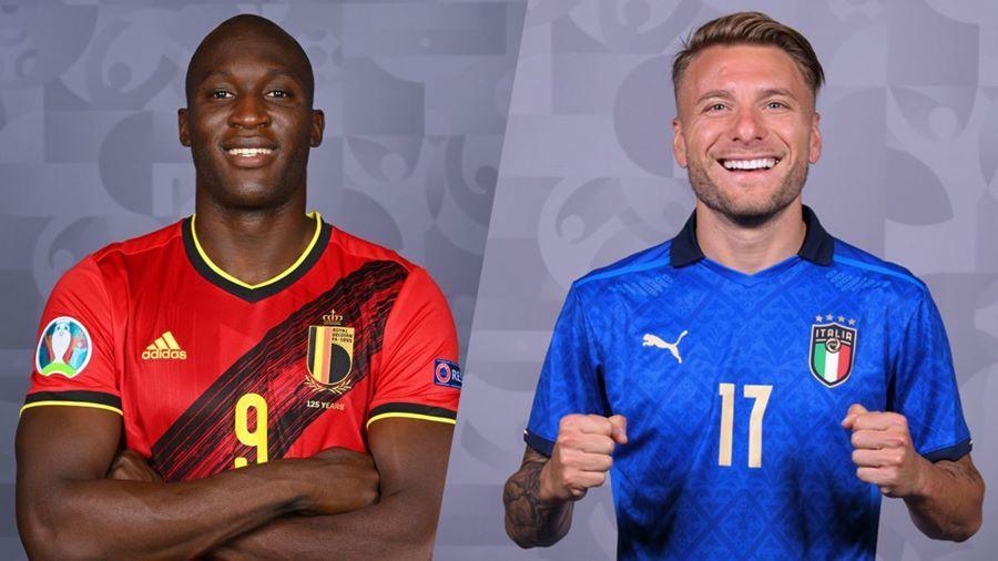 Trực tiếp Italy vs Bỉ: Đại chiến tại 'hang hùm'