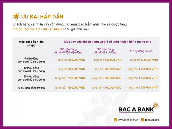Giải ngân nhanh tại Bac A Bank, nhận 'quà tặng bình an'