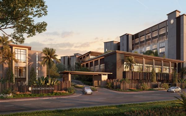Coteccons trúng thầu dự án Intercontinental Halong Bay Resort & Residences