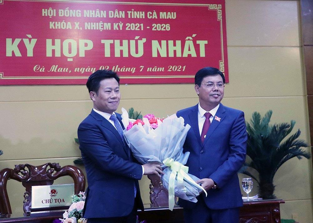 Ông Huỳnh Quốc Việt làm Chủ tịch UBND tỉnh Cà Mau