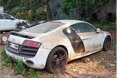 Chủ vào tù, Audi R8 vứt xó 'dãi nắng dầm mưa' chua xót
