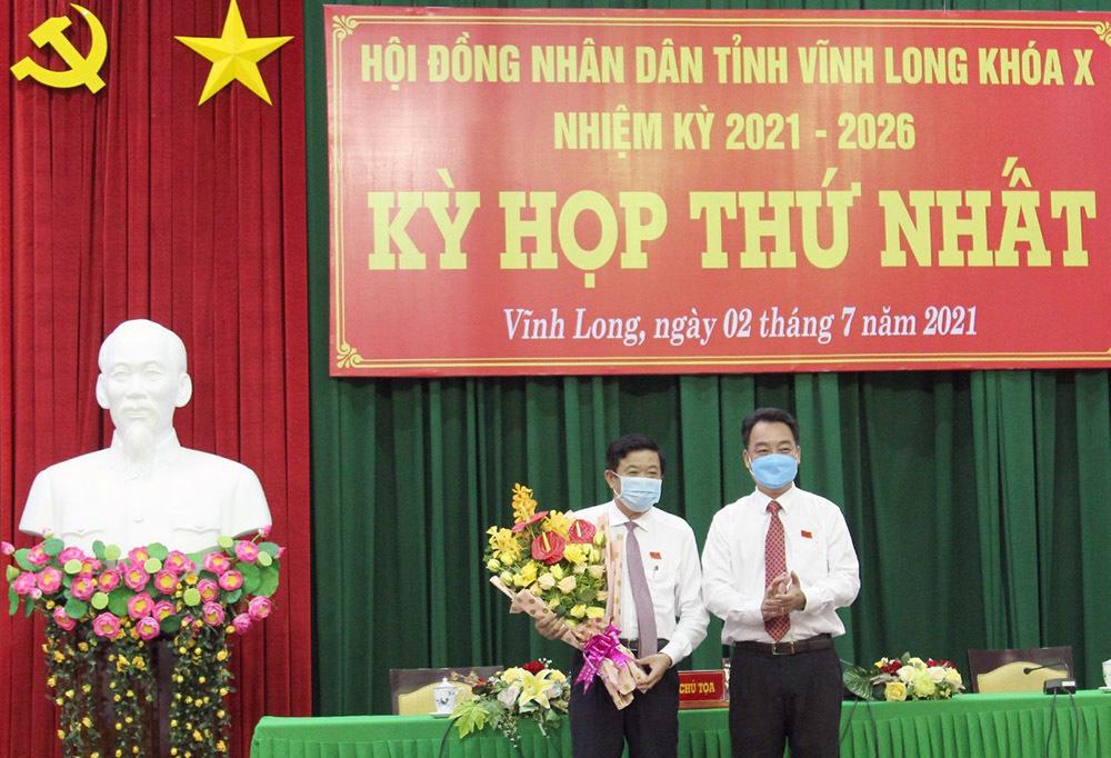 Ông Bùi Văn Nghiêm tái đắc cử Chủ tịch HĐND tỉnh Vĩnh Long