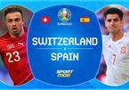 Trực tiếp Tây Ban Nha vs Thụy Sĩ: Morata lĩnh xướng hàng công