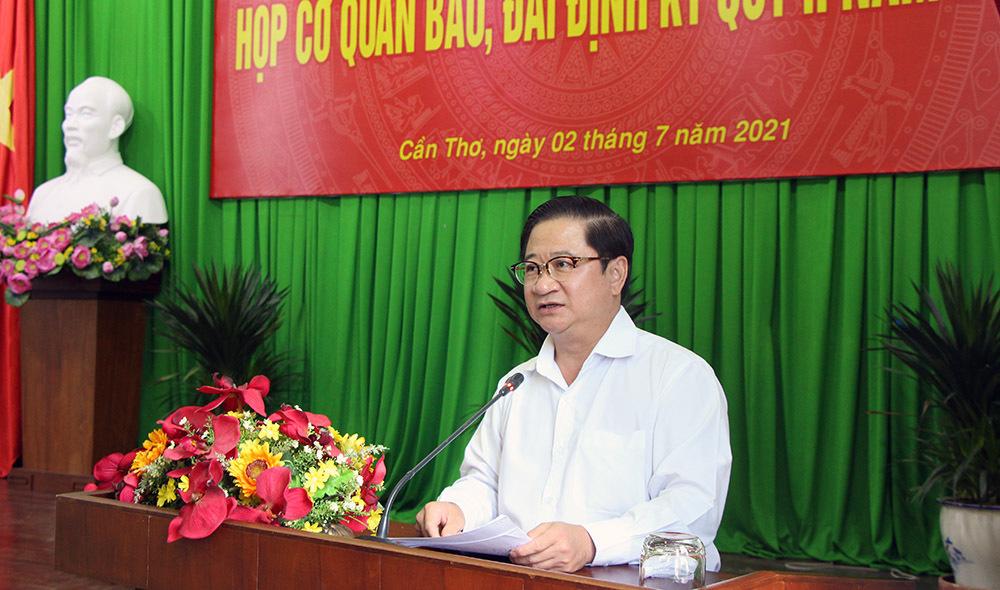 Cần Thơ giãn cách xã hội quận Ninh Kiều và Cái Răng theo Chỉ thị 16
