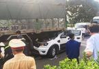Chín ô tô đâm nhau liên hoàn trên QL1A , 1 người tử vong