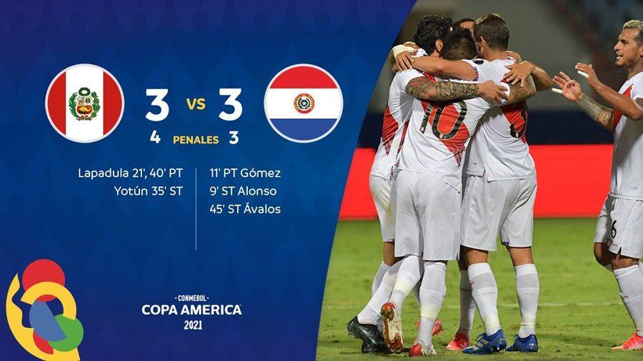 Peru vào bán kết Copa sau màn rượt đuổi siêu kịch tính