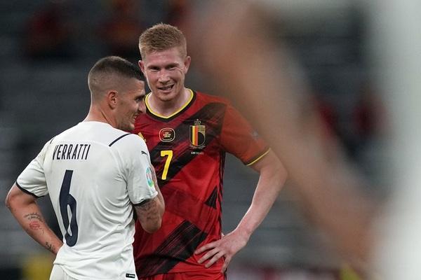 De Bruyne: 'Bỉ sai lầm ở bàn mở tỷ số của Italy'