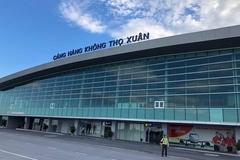 Sân bay Thọ Xuân tạm dừng khai thác, khẩn trương thông báo tới các hãng bay