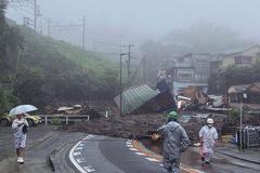 Lở đất tại thị trấn nghỉ mát nổi tiếng ở Nhật, hàng chục người mất tích