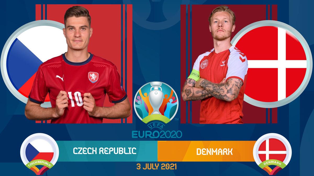 Trực tiếp CH Séc vs Đan Mạch: Viết tiếp giấc mơ