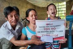 Bạn đọc VietNamNet ủng hộ hơn 70 triệu đồng cho hai hoàn cảnh ở Quảng Trị