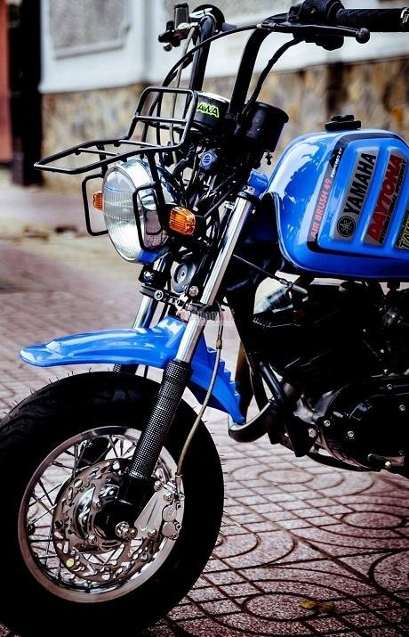 Minibike Yamaha Vogel độ khủng độc nhất Việt Nam giá hơn 400 triệu đồng