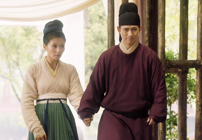 Lưu Đào đóng tình nhân với tài tử Châu Du Dân ở tuổi 42