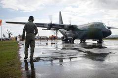 Rơi máy bay chở binh sĩ Philippines