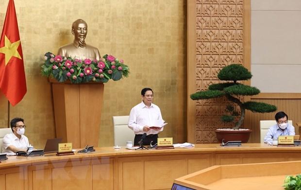 Dịch diễn biến nhanh, Thủ tướng họp với 8 tỉnh, thành phố phía Nam