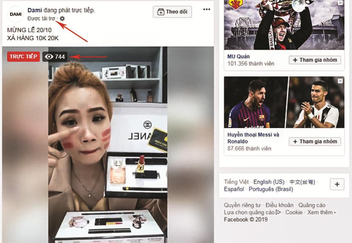 Bán hàng online, nhiều streamer dùng thủ đoạn lừa gạt khách hàng