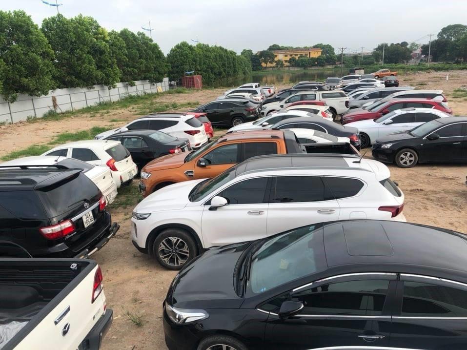 Công an Cầu Giấy triệt phá ổ nhóm tiêu thụ gần 100 ô tô 'gian'