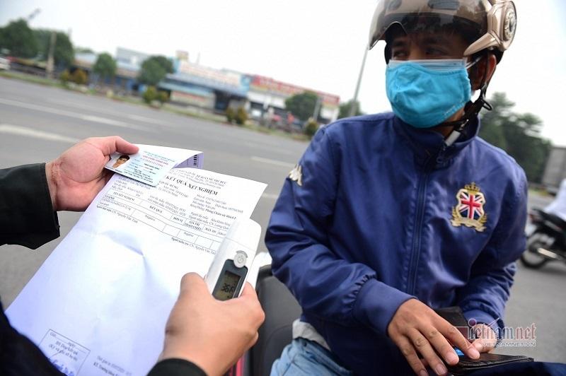 Người từ TP.HCM, Bình Dương đến Đồng Nai không có giấy xét nghiệm âm tính phải quay về