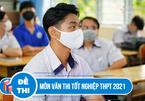 Cập nhật đề thi môn Ngữ văn thi tốt nghiệp THPT 2021