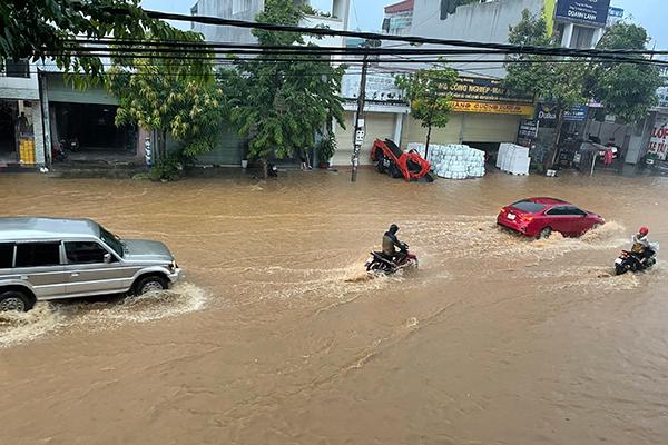 Bắc Bộ nhiều nơi có nguy cơ ngập úng, Hà Nội mưa 3 ngày tới