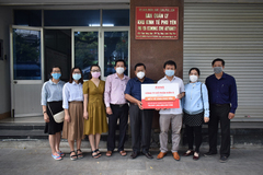 Kiến Á tặng tỉnh Phú Yên máy hỗ trợ xét nghiệm nhanh Covid-19