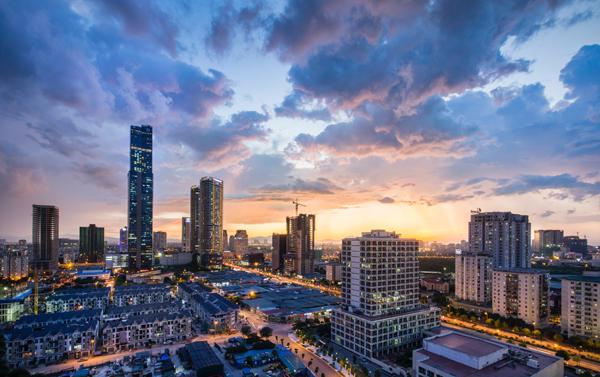 Sức hút bất động sản phía đông Hà Nội