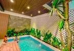 Nhà diện tích 50m2 vẫn có hồ bơi, vườn gác mái nhờ thiết kế tài tình