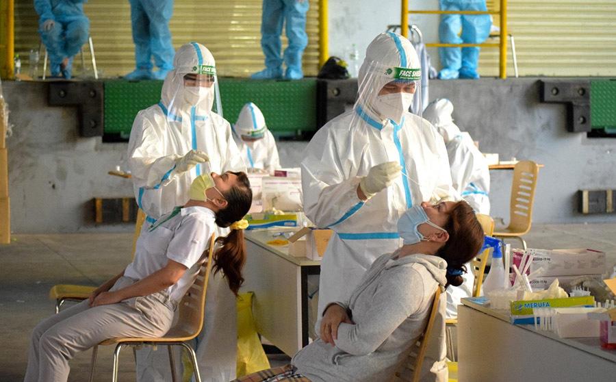 119 công nhân Công ty Nidec ở TP.HCM dương tính nCoV khi test nhanh