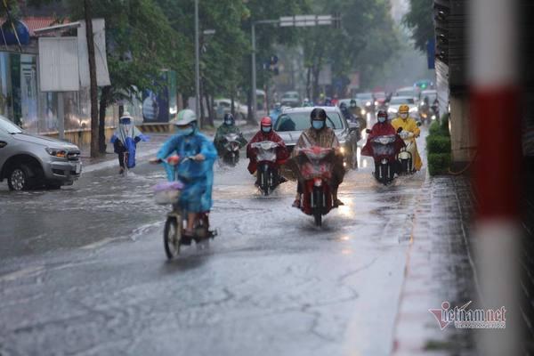 Dự báo thời tiết 6/7, miền Bắc có nơi mưa to